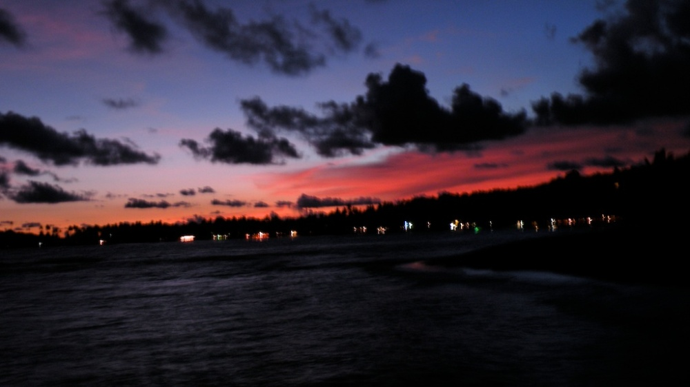 Unawatuna Bay at Dusk